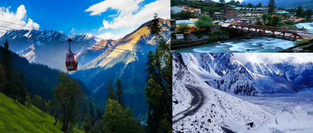 Witness nature's beauty and enjoy an exciting vacation in Manali
